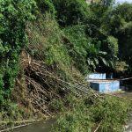 Akibat Hujan, Terjadi Retakan di Bantaran Sungai Winongo